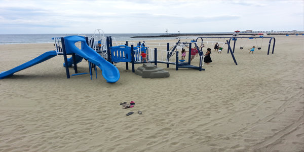 Avon Beach Kids Playground