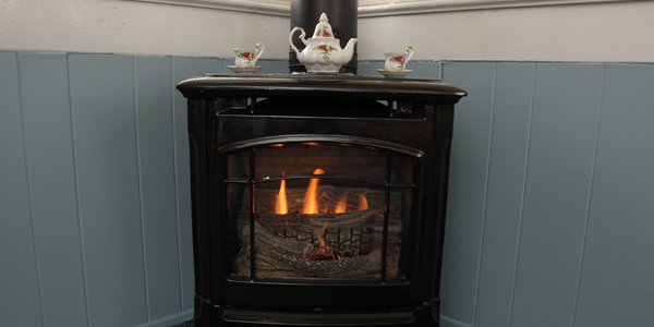 Sit and Relax and Enjoy a Cup of Tea by the Fire.
